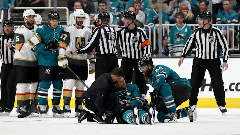 Golden Knights blast 'embarrassing' penalty call in dramatic Sharks defeat