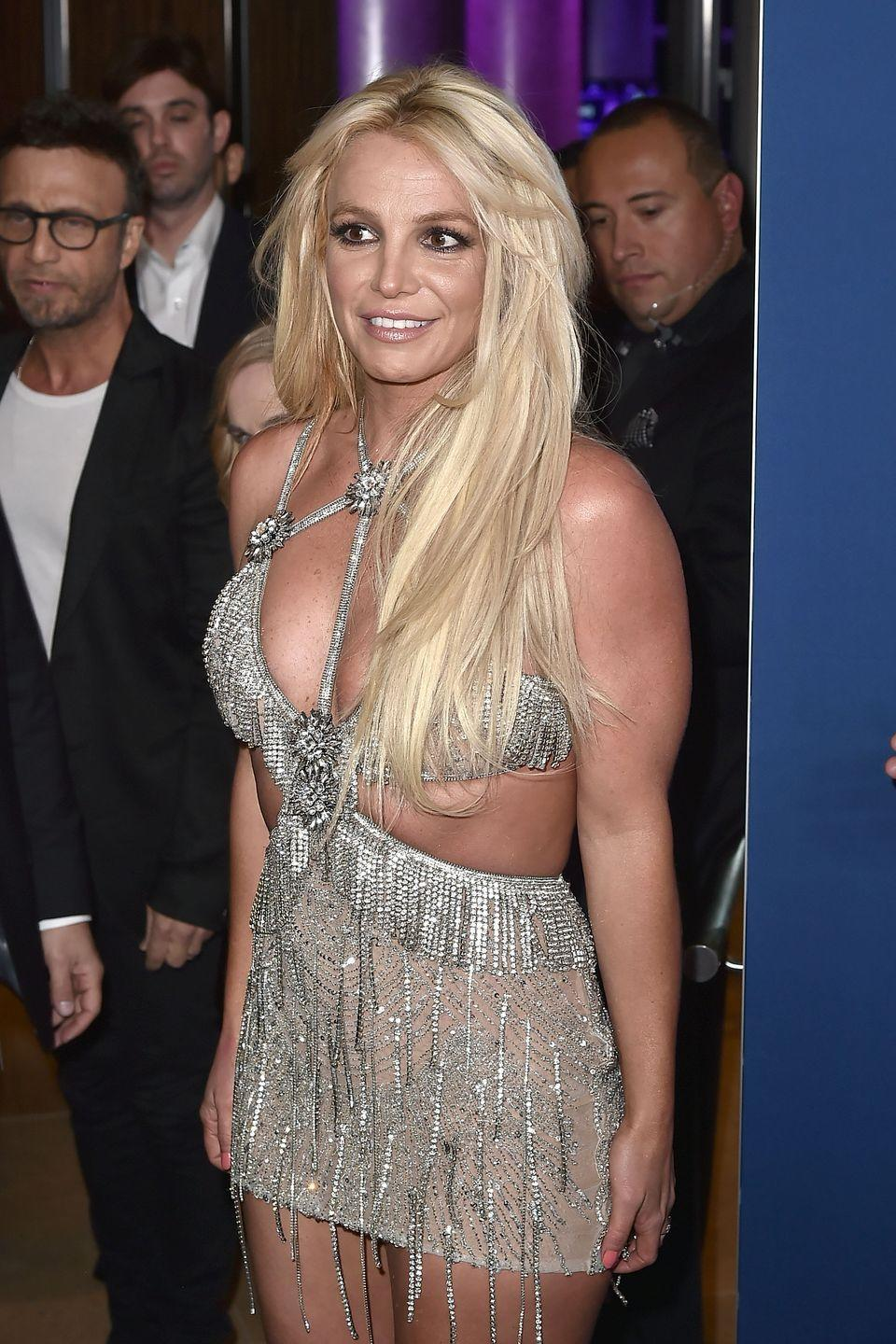 <p>Britney has rocked this style too many times to count. But, hey, it's iconic for a reason.</p>