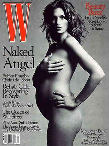 Cindy Crawford poses naked on the cover of W magazine [Photo: W magazine]