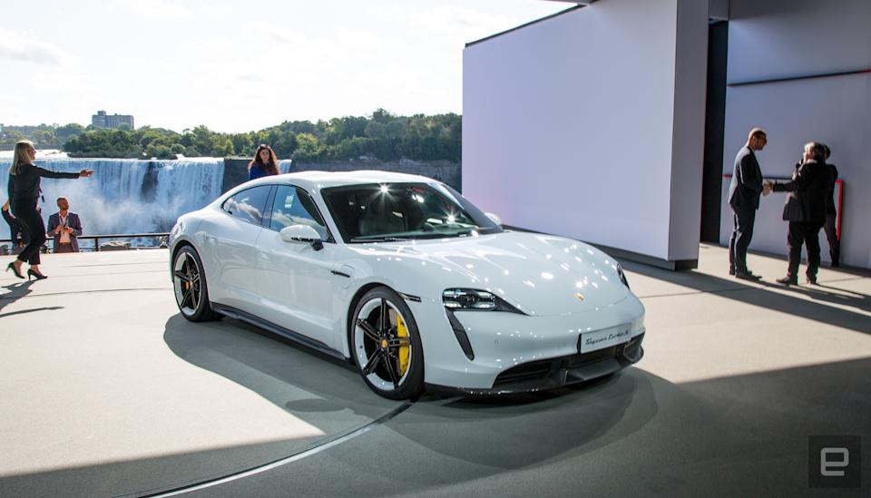 Porsche is reportedly planning a Taycan EV recall over sudden power loss