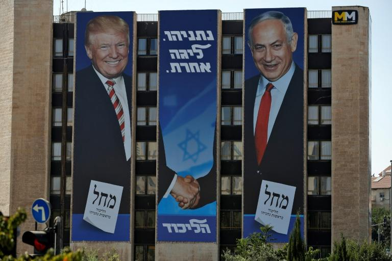 Trump has invited Israeli Prime Minister Benjamin Netanyahu to the White House as he plans to unveil his peace plan for the Middle East (AFP Photo/AHMAD GHARABLI)