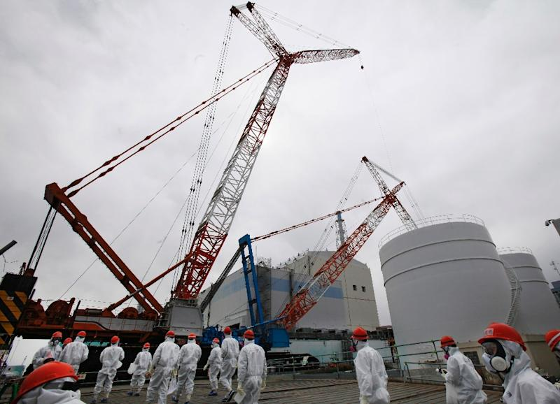 Reactors at the Fukushima Dai-ichi plant went into meltdown in March 2011 after a tsunami swamped their cooling systems -- setting off the worst nuclear disaster since Chernobyl in 1986 (AFP Photo/Koji Sasahara)