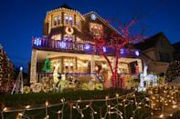 According to local lore, Dyker Heights' Christmas lights tradition began in the mid-1980s, started by a woman named Lucy Spata in honor of her mother's memory
