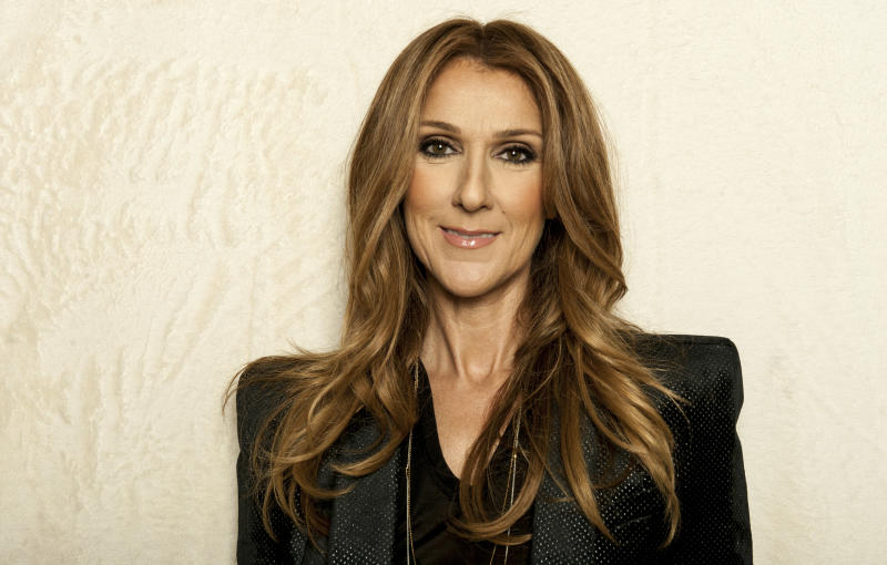 Singer Celine Dion poses for a portrait on Saturday, Dec. 14, 2012 in Los Angeles. (Photo by Jordan Strauss/Invision/AP)