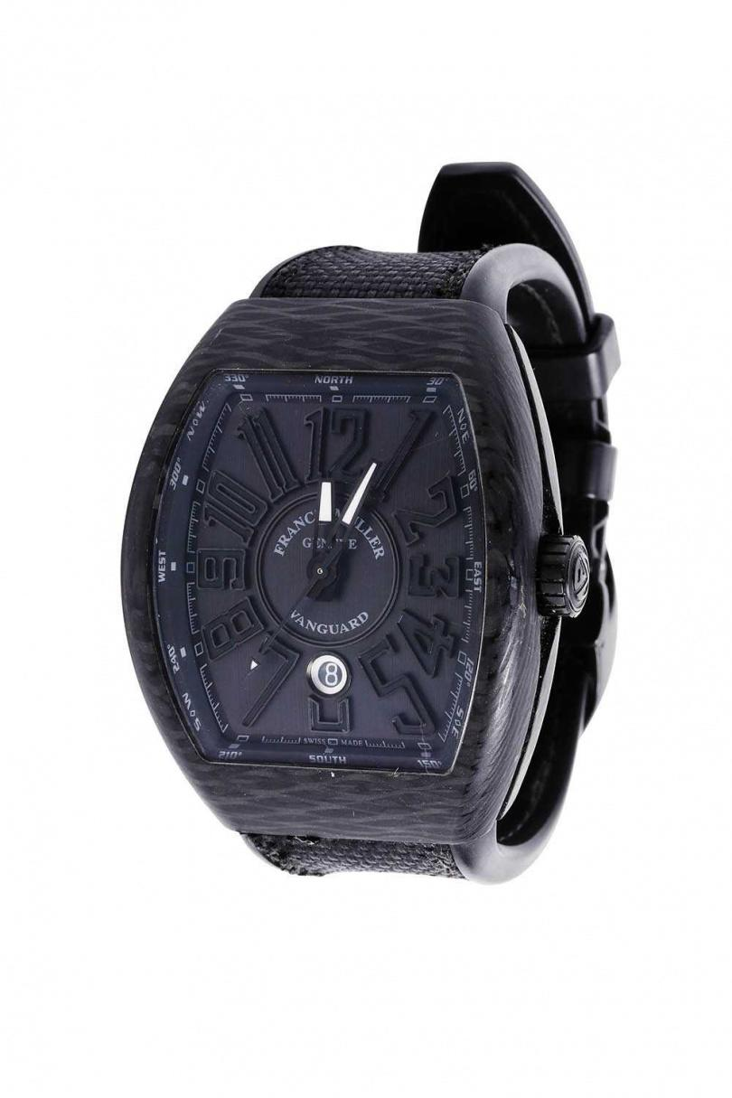 FRANCK MULLER Vanguard Carbon Krypton/440,000元(攝影/戴世平)