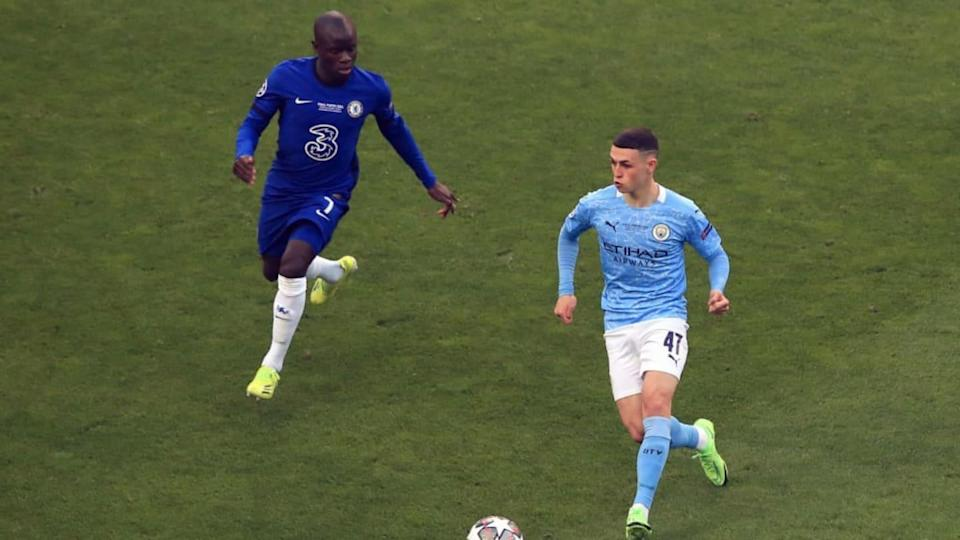 Phil Foden, N'Golo Kante | Marc Atkins/Getty Images
