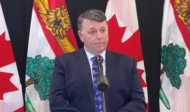Premier Dennis King is hopeful the red phase of COVID-19 restrictions will be short-lived. (Kirk Pennell/CBC - image credit)