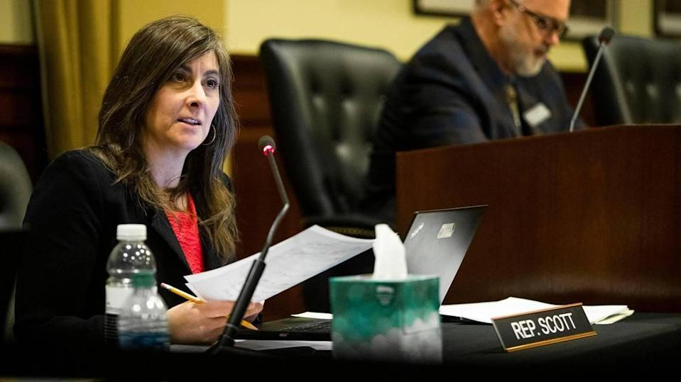 Rep. Heather Scott, R-Blanchard, is one of the legislators claiming that critical race theory is a problem in Idaho education.