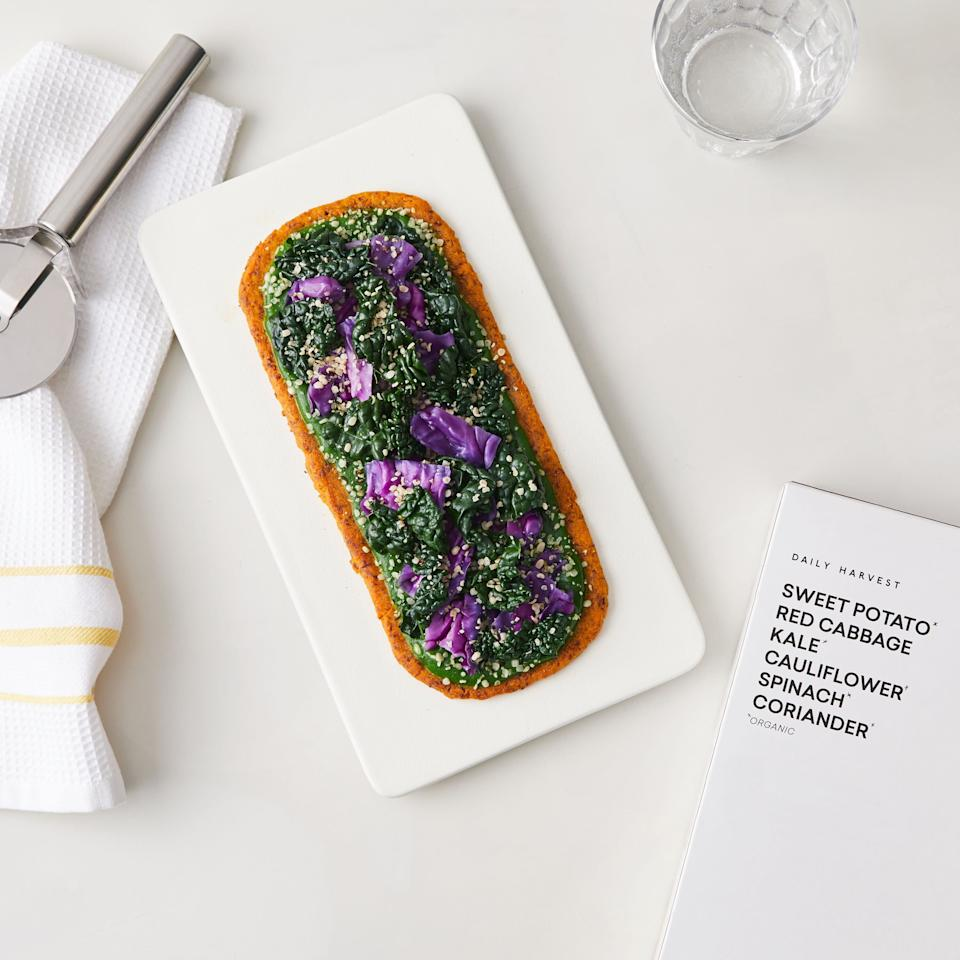 Daily Harvest has added flatbreads to its frozen offerings. (Photo: Daily Harvest)