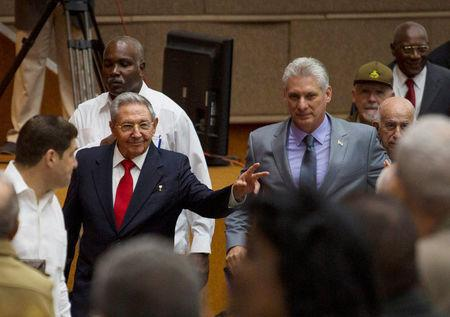 CUBA: Raúl Castro hands over to Miguel Díaz-Canel