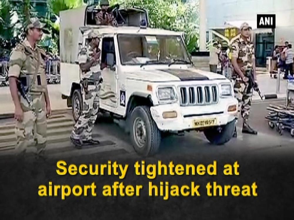 Security was tightened at the Mumbai, Hyderabad and Chennai airport after a threat mail citing hijacking information was received from an anonymous person. The mail said that few people were plotting a plan to hijack airplanes at the airport of these three cities. A special meeting was called at the Mumbai airport with connection to the same. The meeting was attended by airport operators, representatives of domestic and international airlines, local police and immigration officials.