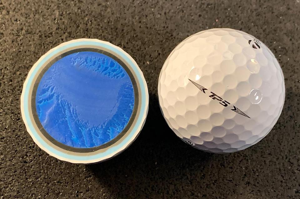 The 2021 TaylorMade TP5 ball
