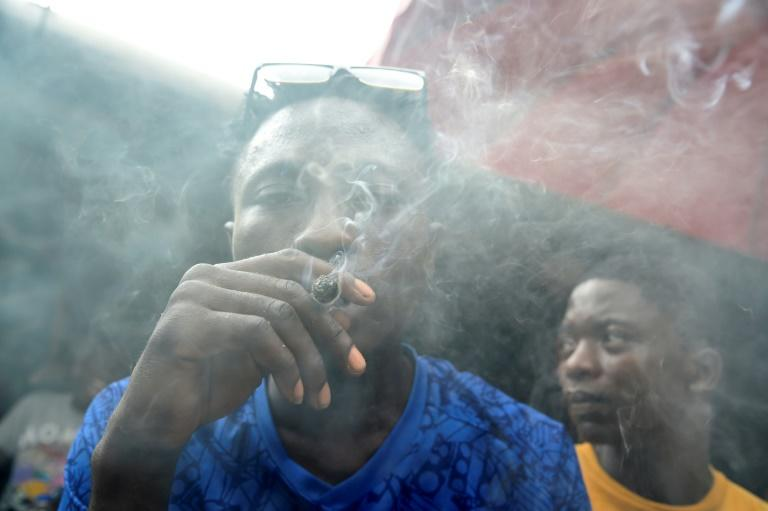 Up in smoke: Nigeria has virtually no facilities to help people who become addicted to drugs