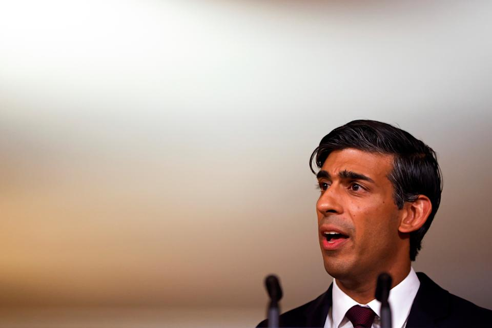 Rishi Sunak said that net-zero targets need to be backed by financial and economic policy in order to work, emphasising the need for a 'decisive progress in the transition to net-zero.' Photo: John Sibley/Reuters