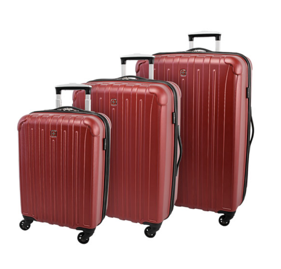 SWISSGEAR Balboa 3-Piece Hard Side Expandable Luggage Set  - $170 (originally $300).