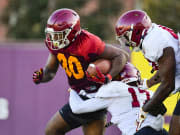 USC RB Markese Stepp looking 'phenomenal' after latest injury setback