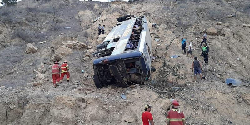 PERU-ACCIDENTE ECUADOR