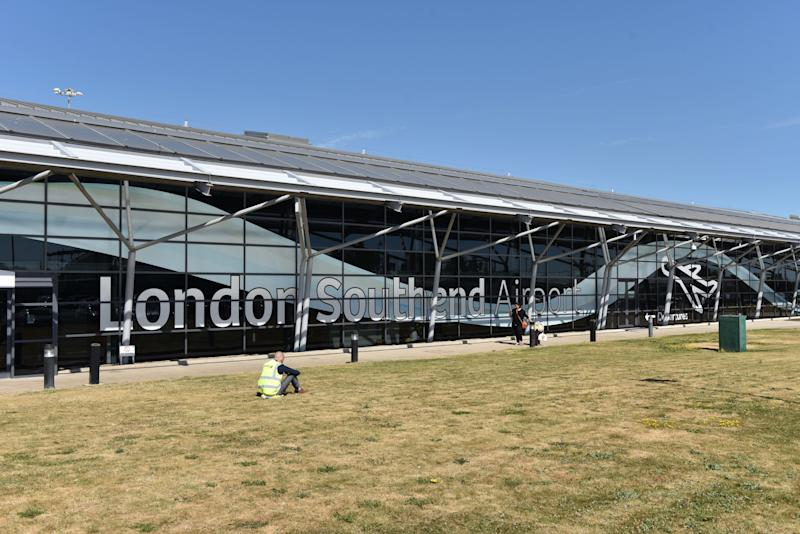 SOUTHEND ON SEA, ENGLAND - JULY 03: A general view of London Southend airport on July 3, 2018 in Southend on Sea, England. (Photo by John Keeble/Getty Images)