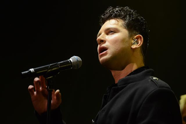 Ross William Wild replaced Tony Hadley as lead singer of Spandau Ballet in 2018. (Getty Images)