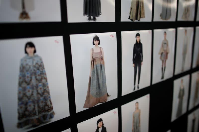 FILE PHOTO: Dior unveils Haute Couture collection in digital show