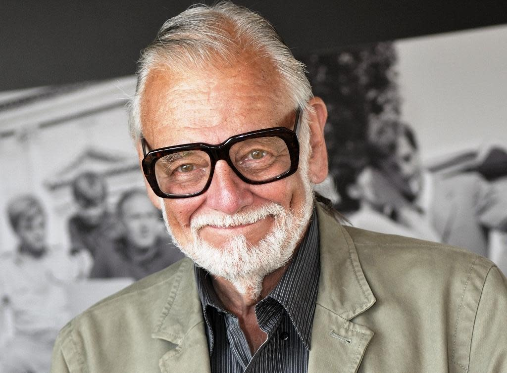 George A. Romero is pictured at 66th Venice Film Festival in Venice, Italy, Sept. 2, 2009.