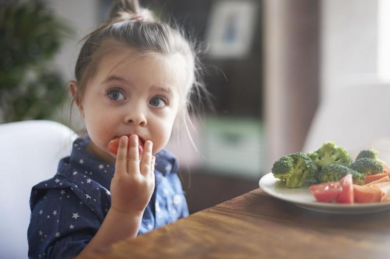 There is already hot debate over whether children should be raised as vegans. Source: Getty