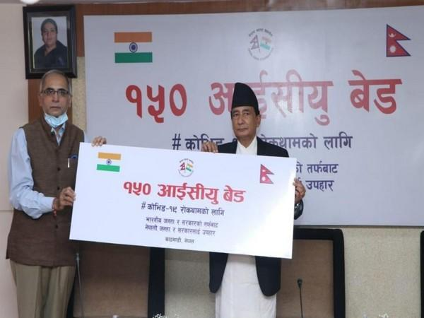 India hands over 150 ICU beds to Nepal as part of its commitment to COVID 19 cooperation
