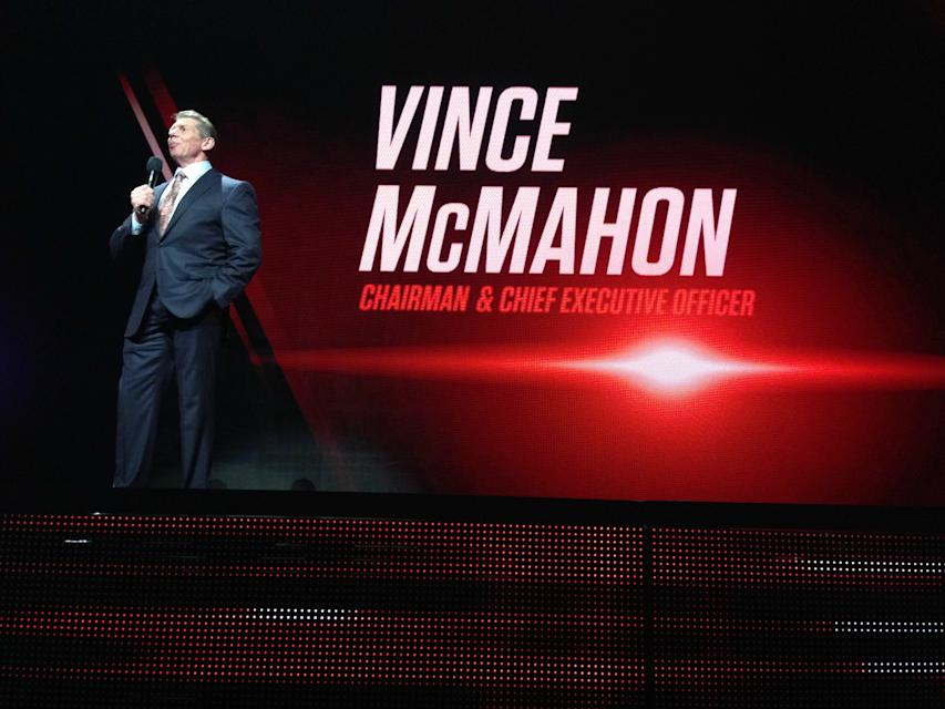 WWE CEO Vince McMahon announcing the new WWE Network.