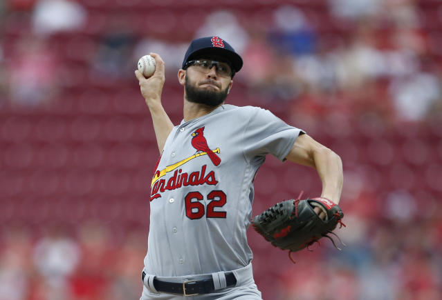 Daniel Poncedeleon threw seven no-hit innings in his MLB debut for the St. Louis Cardinals Monday, 14 months after a line drive to the head led to surgery to relieve pressure on his brain. (AP)