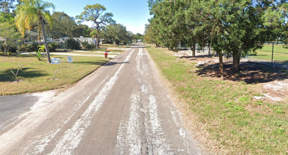 A Google Maps shot of 25th Avenue South, where Thomas Parkinson-Freeman fatally shot his twin brother.