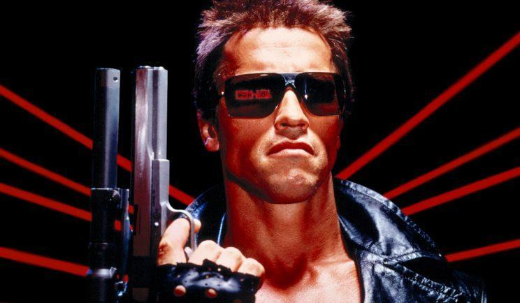 Arnold Schwarzenegger in The Terminator - Credit: Orion Pictures