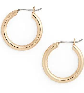 <p>Chunky hoops won't be out of trend anytime soon, so why not hop on the bandwagon? These <span>Nordstrom Small Endless Hoop Earrings</span> ($19) master the trend for less.</p>