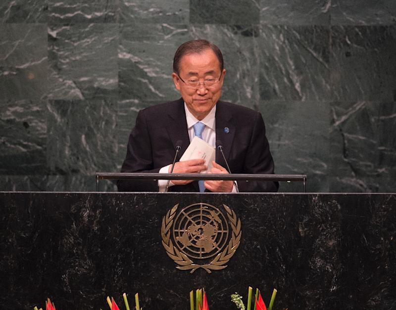UN Secretary General Ban Ki-moon accuses those who are bombarding Aleppo's hospitals and schools of war crimes, and there have been calls for new international sanctions