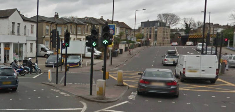<strong>The incident took place near Tulse Hill station </strong> (Google Streetview)