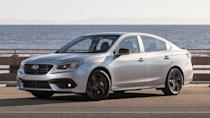 """<p><strong>Score: 6.6 / 10</strong></p> <p>The latest <a href=""""https://www.motor1.com/reviews/407346/2020-subaru-legacy-xt-sedan-review/"""" rel=""""nofollow noopener"""" target=""""_blank"""" data-ylk=""""slk:Subaru Legacy"""" class=""""link rapid-noclick-resp"""">Subaru Legacy</a> doesn't look flashy, but it is a very good family sedan under the sheet metal. Scoring high marks in comfort, technology, and safety, the Legacy is a relaxed and nice-to-drive family sedan that offers Subaru's latest EyeSight active safety technology. It gets a 6.6-star rating out of 10.</p> <br><a href=""""https://www.motor1.com/reviews/367111/2020-subaru-legacy-first-drive/"""" rel=""""nofollow noopener"""" target=""""_blank"""" data-ylk=""""slk:2020 Subaru Legacy First Drive: Unassuming Improvement"""" class=""""link rapid-noclick-resp"""">2020 Subaru Legacy First Drive: Unassuming Improvement</a><br><a href=""""https://www.motor1.com/reviews/407346/2020-subaru-legacy-xt-sedan-review/"""" rel=""""nofollow noopener"""" target=""""_blank"""" data-ylk=""""slk:2020 Subaru Legacy XT Review: Better Beneath The Surface"""" class=""""link rapid-noclick-resp"""">2020 Subaru Legacy XT Review: Better Beneath The Surface</a><br>"""