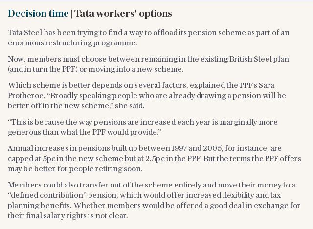 Decision time | Tata workers' options
