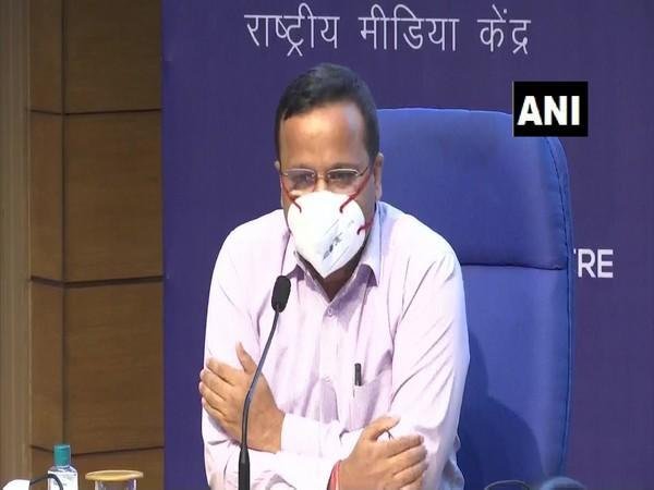 Joint Secretary of the Union Health Ministry Lav Agarwal. (Photo/ ANI)