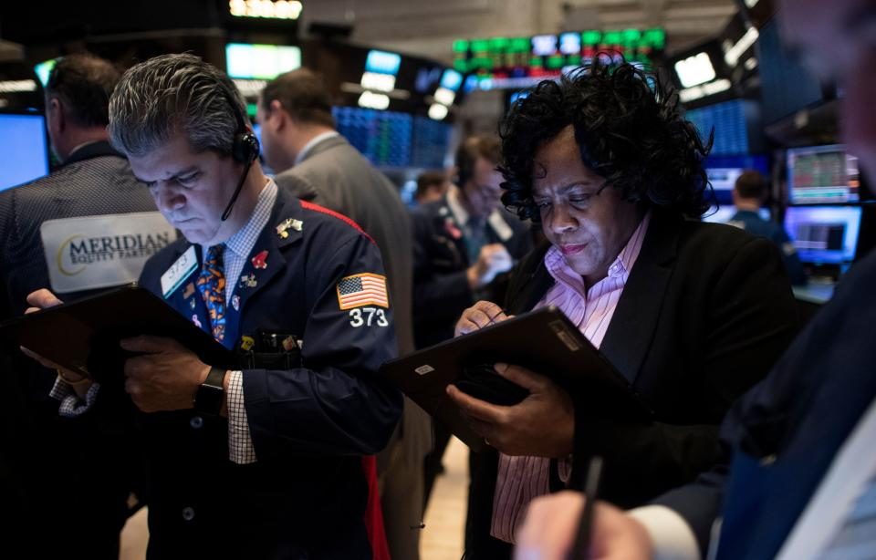 Mutual funds carry risk. (Photo: JOHANNES EISELE/AFP via Getty Images)