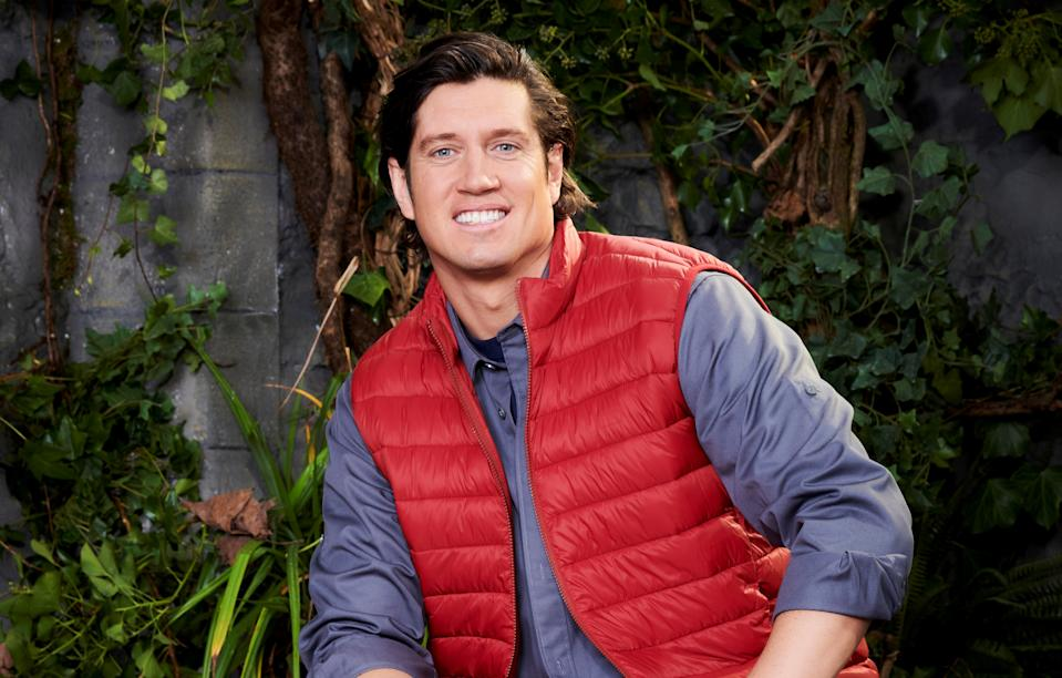 Vernon Kay namedropped Tom Hanks in I'm A Celebrity (ITV)