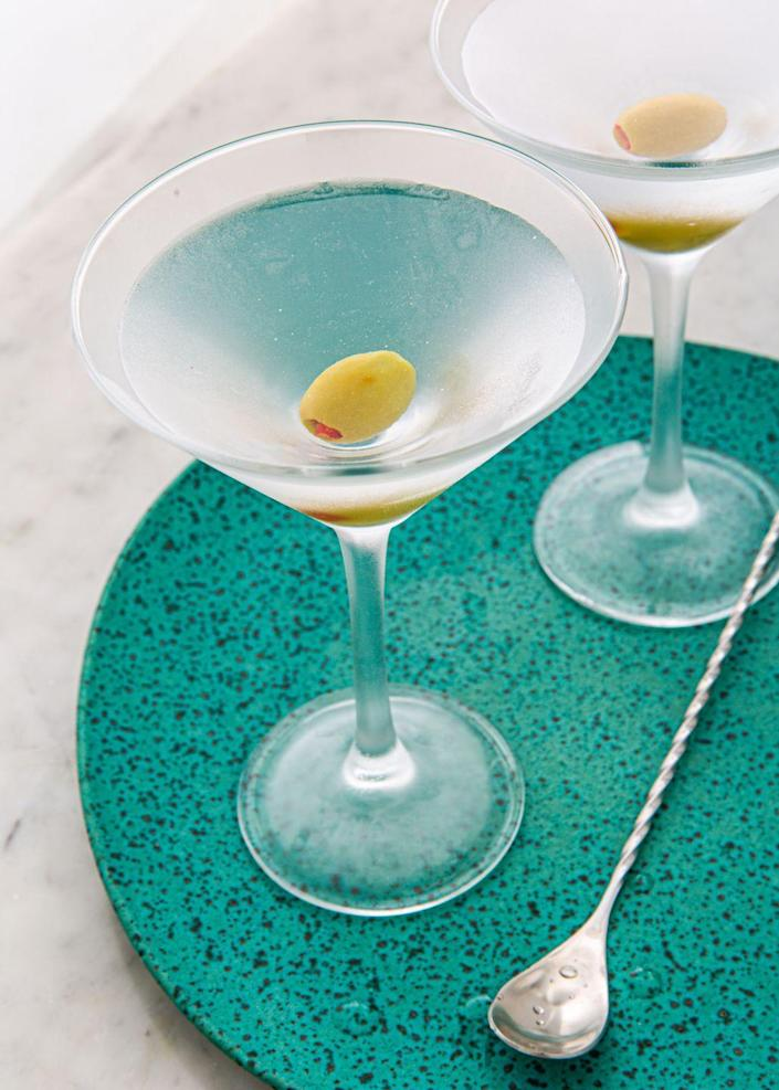 "<p>Just three simple ingredients.</p><p>Get the recipe from <a href=""https://www.delish.com/cooking/recipe-ideas/a29252178/classic-vodka-martini-recipe/"" rel=""nofollow noopener"" target=""_blank"" data-ylk=""slk:Delish"" class=""link rapid-noclick-resp"">Delish</a>.</p>"