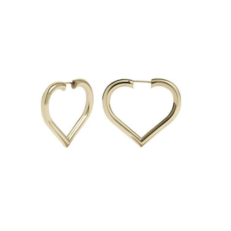 """<p><a class=""""link rapid-noclick-resp"""" href=""""https://meadowlarkjewellery.co.uk/products/love-hoops-medium?variant=5036140462117"""" rel=""""nofollow noopener"""" target=""""_blank"""" data-ylk=""""slk:SHOP NOW"""">SHOP NOW</a></p><p>Buying for a minimalist? Opt for these sleek heart-shaped hoops from Meadowlark. </p><p>Gold-plated heart hoop earrings, £252, <a href=""""https://meadowlark.co.nz/"""" rel=""""nofollow noopener"""" target=""""_blank"""" data-ylk=""""slk:Meadowlark"""" class=""""link rapid-noclick-resp"""">Meadowlark</a></p>"""