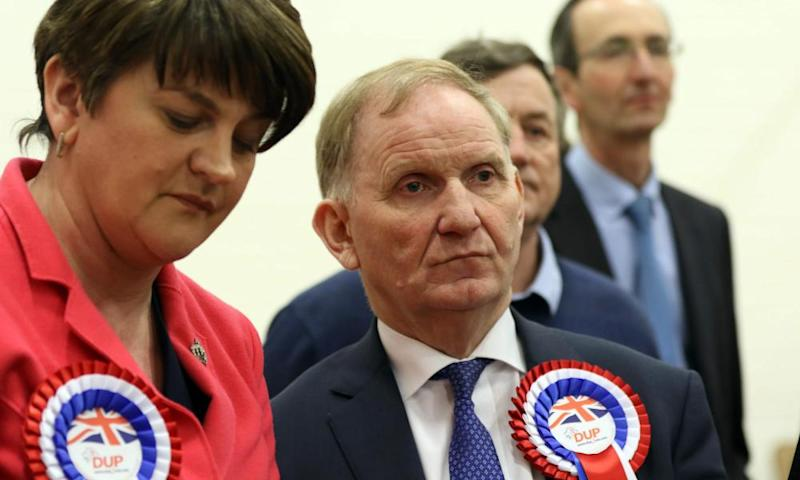 Arlene Foster and Maurice Morrow