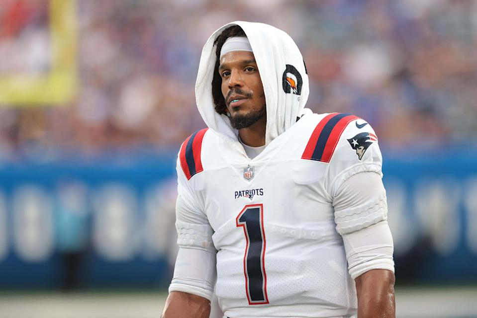 Cam Newton thinks the Patriots released him because he would have been a distraction as the backup QB.