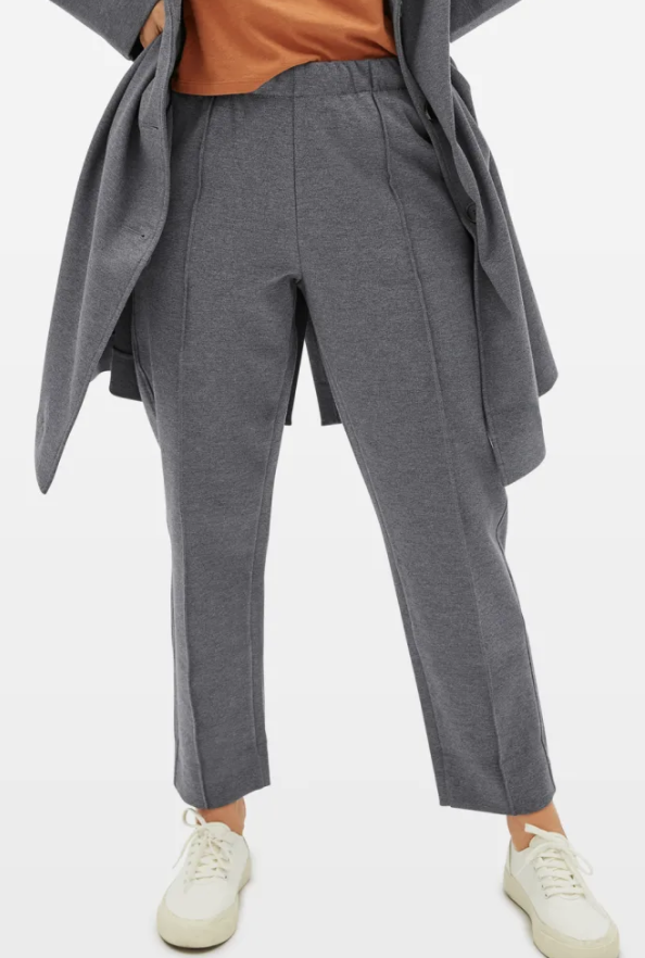 Everlane Dream Pant in Heathered Grey
