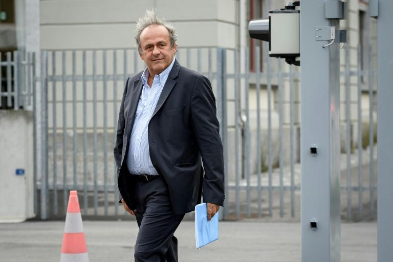Frequent visitor: Michel Platini is due to continue his tour of Swiss courtrooms on Monday, Tuesday and Wednesday