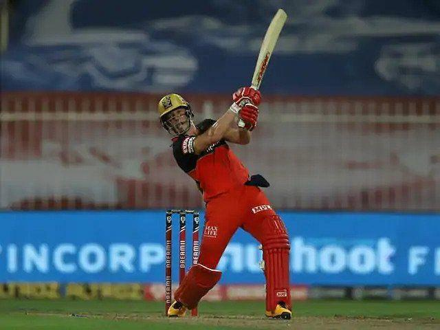 Virat Kohli had a lot of praise for Ab de Villiers' brilliant innings of 73 on the slow Sharjah pitch and called him a superhuman