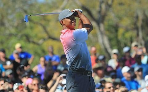 """Tiger Woods says the biggest thrill of his extraordinary comeback is that his children are finally realising their father is not just """"the YouTube golfer"""". Woods, 42, went out in the third round of the Arnold Palmer Invitational on four-under and was once again in the top 20. His mission was at least to replicate last week's heroics in Tampa Bay where he tied for second, his first top-three in five years. When Woods picked up Sam, 10, and Charlie, 9, from school the next day, he was surprised to hear them recount his Valspar Championship performance in detail. Previously he's bemoaned the fact that """"my kids have never understood what I've been able to do in golf because they've never seen me in action and always think I'm the YouTube golfer"""". """"They were so young when I was playing well that they don't remember any of it,"""" Woods said. """"So this is pretty neat for me to be able to experience this with them. They were saying 'Dad had a chance to win on Sunday, made a big putt on 17', and they went through all the different scenarios. That's really neat."""" Meanwhile, it will be impossible to escape Woods on screen at the Masters in two week's time. Despite being 149th in the rankings, Woods has been made favourite by many bookmakers to win a fourth green jacket at Augusta. And the gutsy manner of his 72 on Friday will convince many that he is returning to his old self. Woods is back in form Credit: Getty images """"It was a hard fight, a grind,"""" Woods said. """"I hung in and kept grinding away. I didn't hit the ball well, but I was just hanging in there and just trying not to shoot myself out of the tournament."""" Woods is scheduled to take off the next fortnight before arriving at Georgia. He is not qualified for the WGC Match Play in Austin and has never played the week before the season's first major. Justin Rose will play at the Houston Open, but has pulled out of the Match Play, as the Englishman follows the same path which took him so close to Masters glory last year. Henri"""