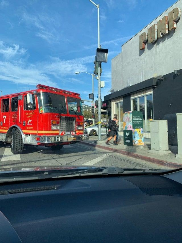 car crashes into Lisa Vanderpump's restaurant PUMP
