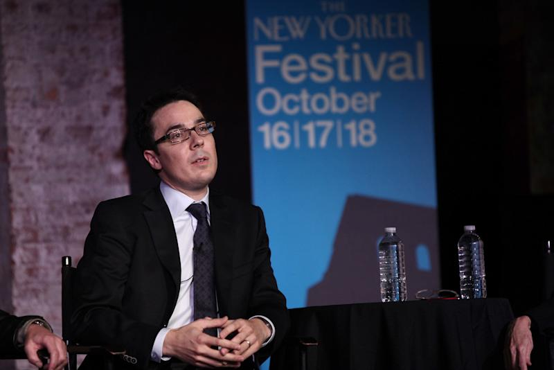 Ryan Lizza at the New Yorker Festival in Oct. 2009