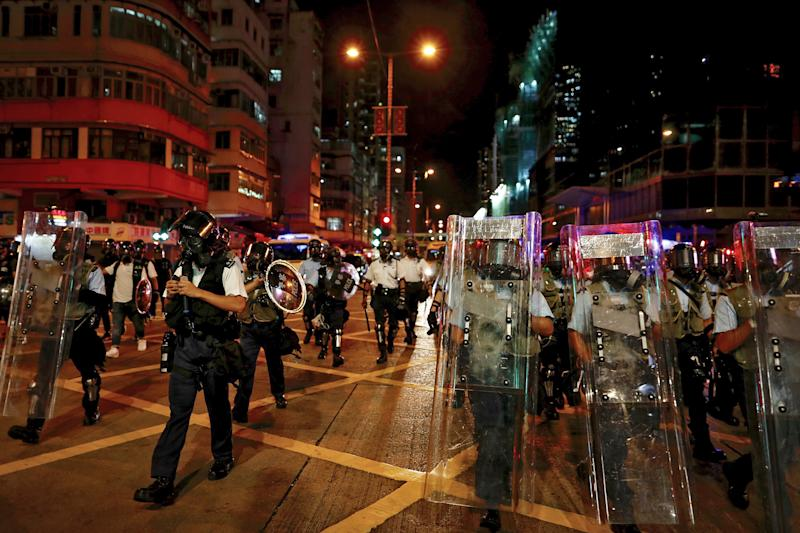 Congressional leaders slam Chinese government over Hong Kong protests after Trump called situation 'tricky'